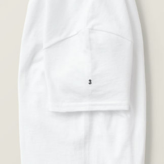 T-shirt Brodé pièce en t brodée par sauvage