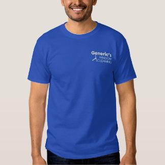 T-shirt Brodé Pro racle de laveur de vitres