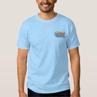 T-shirt Brodé Professeur remplaçant