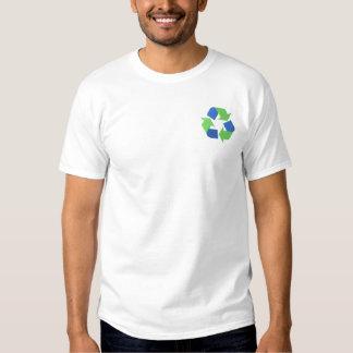 T-shirt Brodé Réutilisez le logo