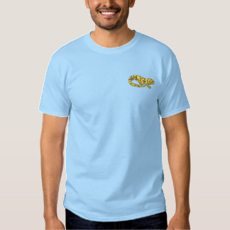 T-shirt Brodé Salamandre de tigre