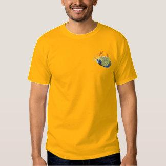 T-shirt Brodé Scalaire d'empereur