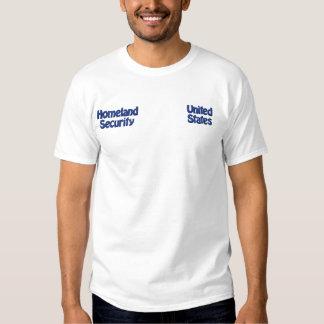 T-shirt Brodé Sécurité de patrie