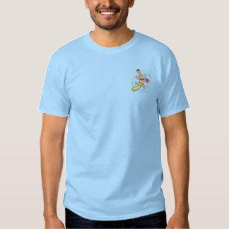 T-shirt Brodé Symbole de l'eau d'ornithorynque