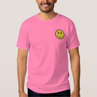 T-shirt Brodé Visage souriant