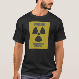 T-shirt Broderie radioactive