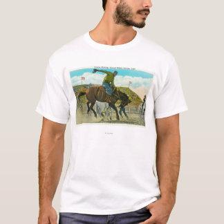 T-shirt Bronco s'opposant au rodéo annuel de salines