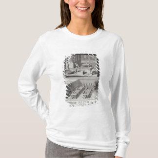 """T-shirt Bronzage en cuir, de la """"encyclopédie"""" par Denis"""