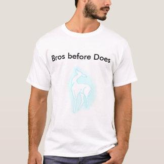 T-shirt Bros avant fait