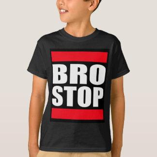 T-shirt BROSTOP drôle anti Brostep Dubstep