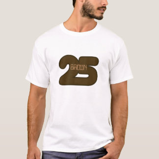 T-shirt Brown 25