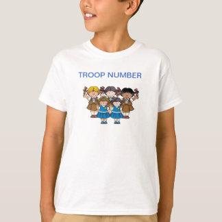 """T-shirt """"brownie""""/marguerite"""