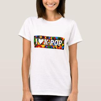 T-shirt bruit coréen du coeur i