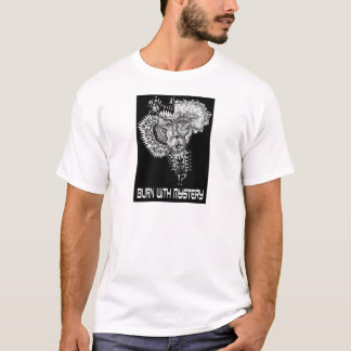 T-shirt Brûlure avec le mystère