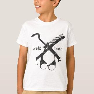 T-shirt Brûlure de soudure
