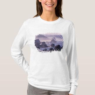 T-shirt Brume de matin le long de côte de l'Orégon près de