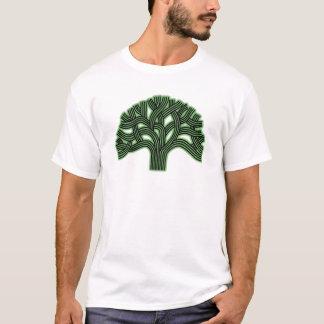T-shirt Brume de vert d'arbre d'Oakland