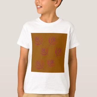 T-shirt Brun d'algues