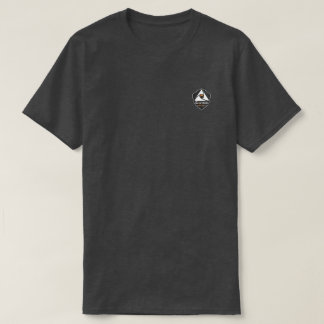 T-shirt bruyère charbon avec logo