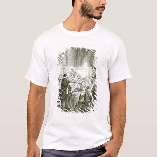 T-shirt Buckingham devant le Conseil