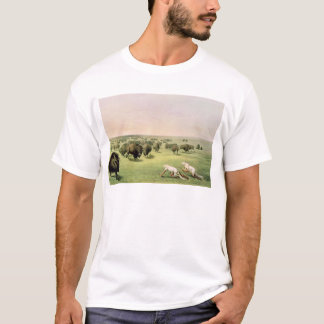 T-shirt Buffalo de chasse camouflé