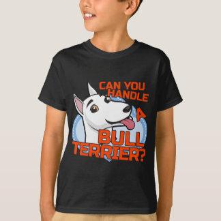 T-shirt Bull-terrier - pouvez-vous me manipuler ?
