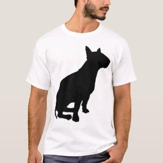 T-shirt Bull-terrier se reposant
