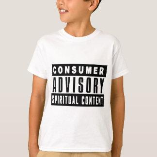 T-shirt Bulletin de renseignements du consommateur -
