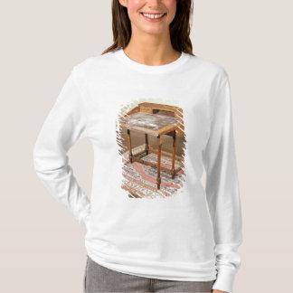 T-shirt Bureau, noix avec la marqueterie d'arabesque