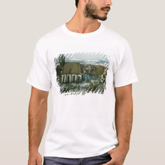 T-shirt Burg Stolpen, construit dans c.1100