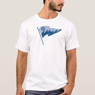 T-shirt Burge de ondulation sur l'avant seulement