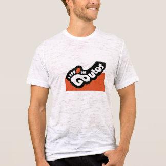 T-shirt Burn-out T de logo de visibilité directe Goutos