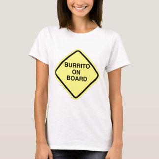 T-shirt Burrito à bord