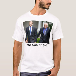 T-shirt Bush-Cheney, l'axe du mal