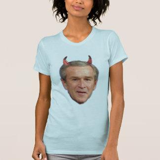 T-shirt Bush - diable, Cheney - diable