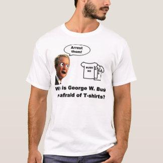 T-shirt Bush effrayé des chemises