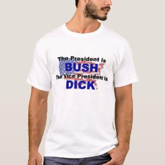 T-shirt Bush tellement long