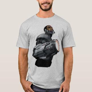 T-shirt Buste de cyborg et d'arme