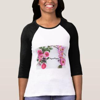 T-shirt But de projet - fleurs