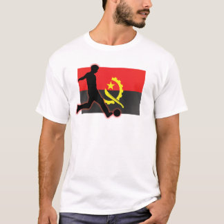 T-shirt Butée du football de l'Angola
