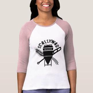T-shirt Butin de logo de brassage de voyou