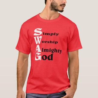 T-shirt Butin, style d'un DIEU