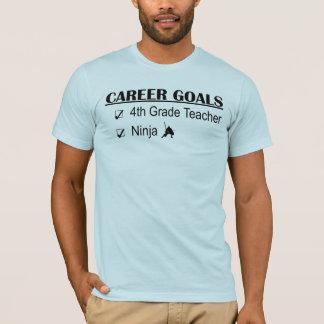 T-shirt Buts de carrière de Ninja - 4ème catégorie