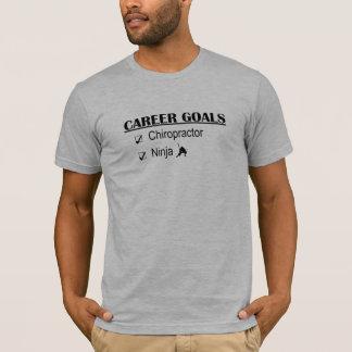 T-shirt Buts de carrière de Ninja - chiroprakteur