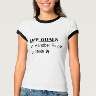 T-shirt Buts de la vie de Ninja de sonnerie de clochette