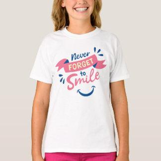 T-shirt Buts de motivation de rêves de gratitude