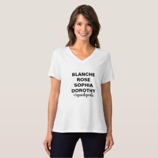 T-shirt Buts d'or de peloton de filles