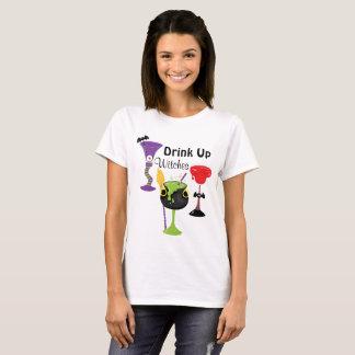 T-shirt Buvez jusqu'à la dernière goutte les sorcières