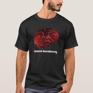 T-shirt c célèbrent le rouge de Neurodiversity