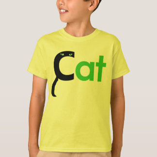 T-shirt C est pour la chemise de chat
